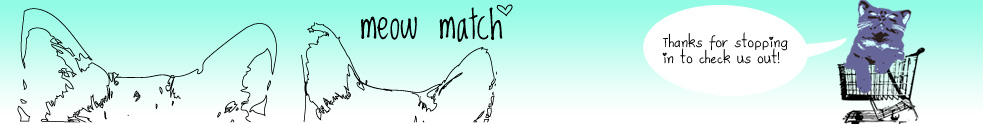 banner image with Meow Match logo